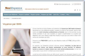 Cliquez pour visiter la page Voyance par SMS sérieuse et fiable réponse immédiate.