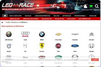 Cliquez pour visiter la page led auto.