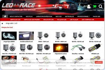 Cliquez pour visiter la page ampoule led auto.