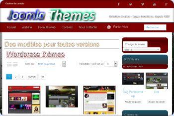 Cliquez pour visiter la page thèmes wordpress.