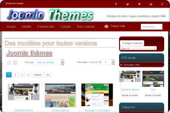 Cliquez pour visiter la page thèmes joomla.
