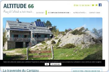 Cliquez pour visiter la page La traversée du Canigou.
