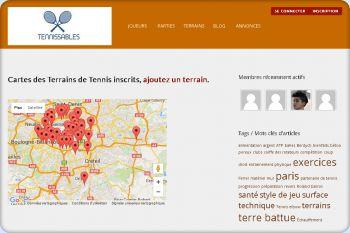 Cliquez pour visiter la page Carte des terrains de tennis.