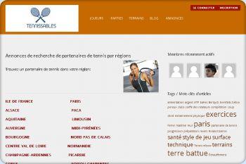 Cliquez pour visiter la page Annonces de recherche de partenaires de tennis par régions.
