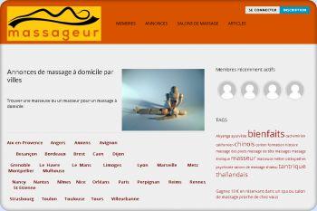 Cliquez pour visiter la page Annonces de massage à domicile.