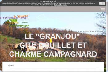 Cliquez pour visiter la page Le GRANJOU gite rural Ariège Lavelanet .