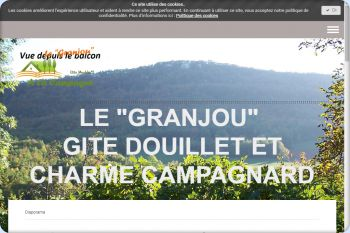 Cliquez pour visiter la page VISITEZ le GRANJOU gite rural campagne Ariège.