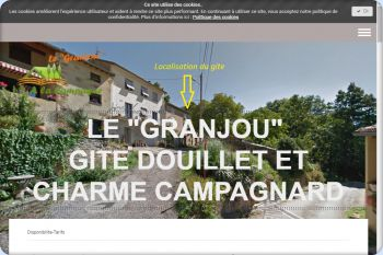 Cliquez pour visiter la page Gite Le GRANJOU vous accueille pour des séjour pas chers en Ariège.