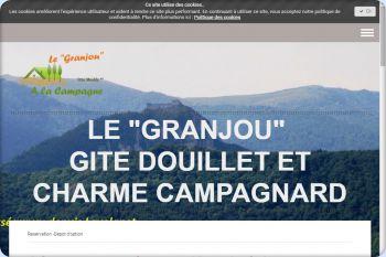 Cliquez pour visiter la page Le GRANJOU Réservez gite Ariège Lavelanet Mirepoix Montségur.