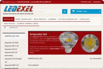 Cliquez pour visiter la page Ampoules led.
