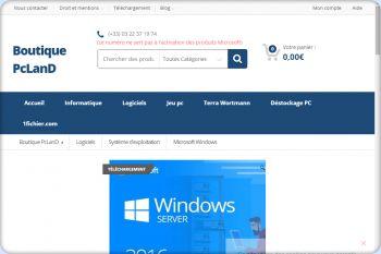 Cliquez pour visiter la page Windows Server 2016 Standard.