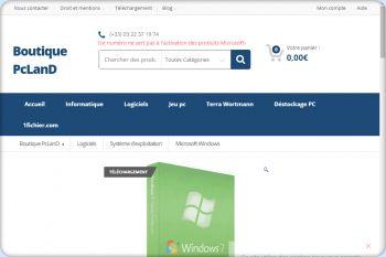 Cliquez pour visiter la page Windows 7 home Premium.