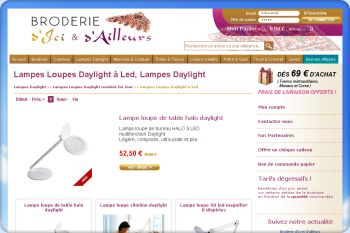 Cliquez pour visiter la page LAMPES LOUPES DAYLIGHT.