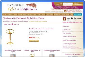 Cliquez pour visiter la page Tambours Patchwork Et à Quilter - Tambours Patchwork Et Quilt.