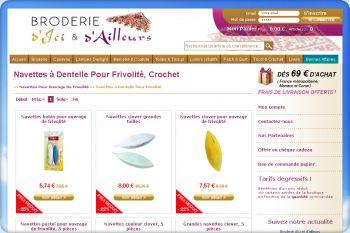 Cliquez pour visiter la page Navettes à Dentelle Pour Frivolité - Navettes Pour Ouvrage De Frivolité.