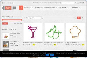 Cliquez pour visiter la page e liquide pour cigarette electronique.