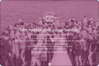 Cliquez pour visiter la page Jérémie & Rosalie, photographe mariage Lyon.