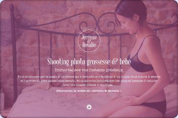 Cliquez pour visiter la page Découvrez le shooting photo grossesse avant/après sur Lyon et sa région.