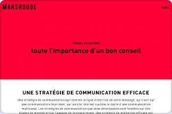 Cliquez pour visiter la page Stratégies de communication à Neuchâtel.
