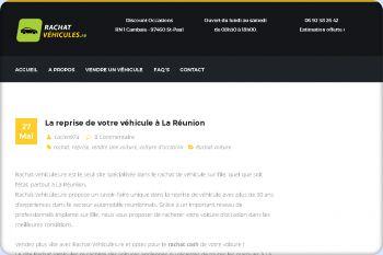 Cliquez pour visiter la page Reprise véhicule d'occasion à La Réunion.