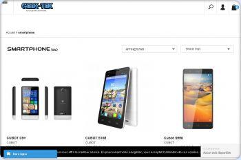 Cliquez pour visiter la page quelques smartphones.