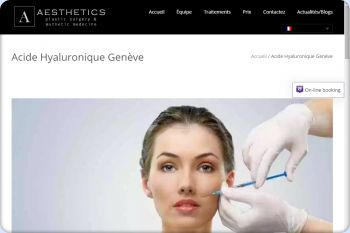 Cliquez pour visiter la page Acide hyaluronique Genève.