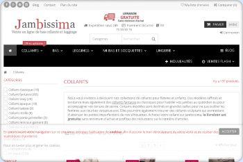 Cliquez pour visiter la page Collants pour femmes et enfants.