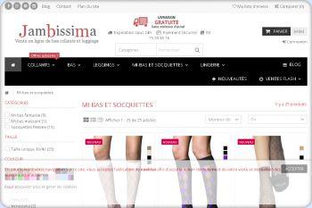 Cliquez pour visiter la page Chaussettes Socquettes et mi-bas.