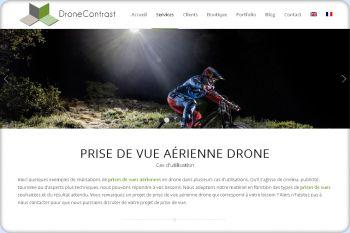 Cliquez pour visiter la page Prise de vue Aérienne en Drone.