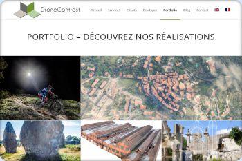 Cliquez pour visiter la page Toutes nos Réalisations en Drone.