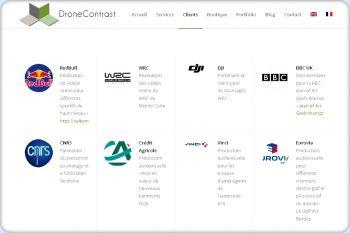 Cliquez pour visiter la page Ils ont fait confiance à nos Drones.