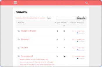 Cliquez pour visiter la page Forum sur les sites de rencontre.