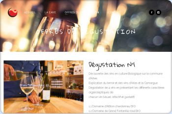 Cliquez pour visiter la page Dégustation de vin à Arles.