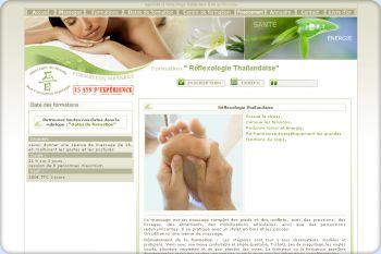 Cliquez pour visiter la page Formation reflexologie Thailandaise.