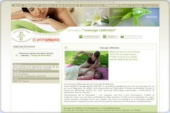 Cliquez pour visiter la page Formation massage californien.