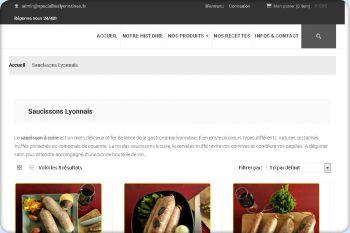 Cliquez pour visiter la page Saucissons Lyonnais.