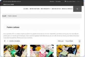 Cliquez pour visiter la page Panier cadeau de Lyon.