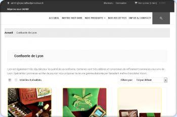 Cliquez pour visiter la page Confiserie de Lyon.