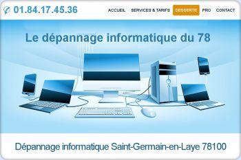 Cliquez pour visiter la page Dépannage informatique Saint-Germain-en-Laye (78100).