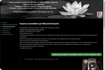 Cliquez pour visiter la page Voyance par mail,email.