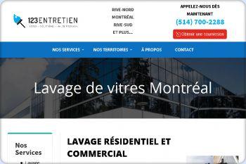 Cliquez pour visiter la page Lavage de vitres à Montréal, Laval et sur la Rive-Sud.