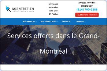Cliquez pour visiter la page Entretien Exterieur dans la Region du Grand-Montreal.