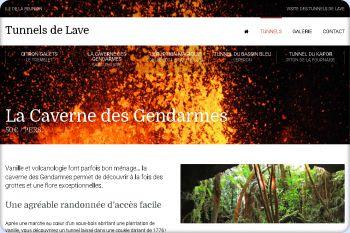 Cliquez pour visiter la page Tunnel La Caverne des Gendarmes.