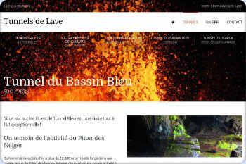 Cliquez pour visiter la page Tunnel du Bassin Bleu.