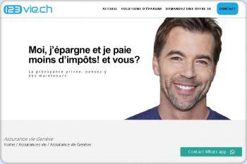 Cliquez pour visiter la page Assurance vie Genève.