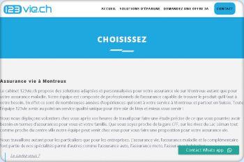 Cliquez pour visiter la page Assurance vie Montreux.