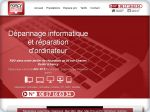 La vignette du site Nancy-dépannage : boutique d'informatique à Nancy