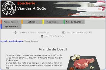 Cliquez pour visiter la page Achat viande de boeuf.