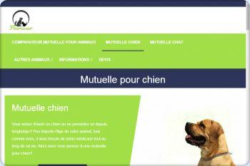 Cliquez pour visiter la page Mutuelle chien pas chère.