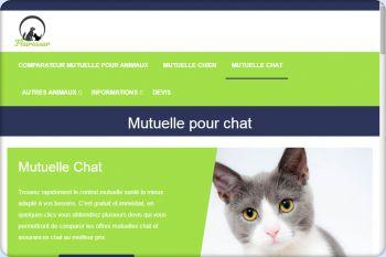 Cliquez pour visiter la page Mutuelle chat pas chère.